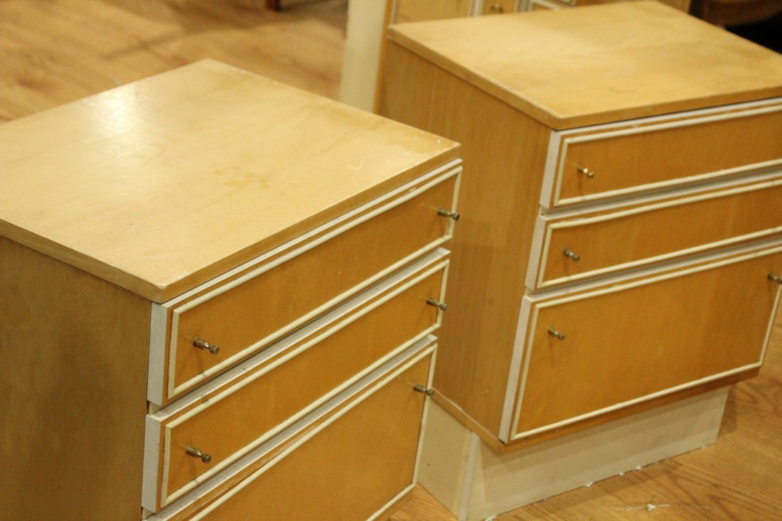 Mid-century Modern dresser set with end tables - 6