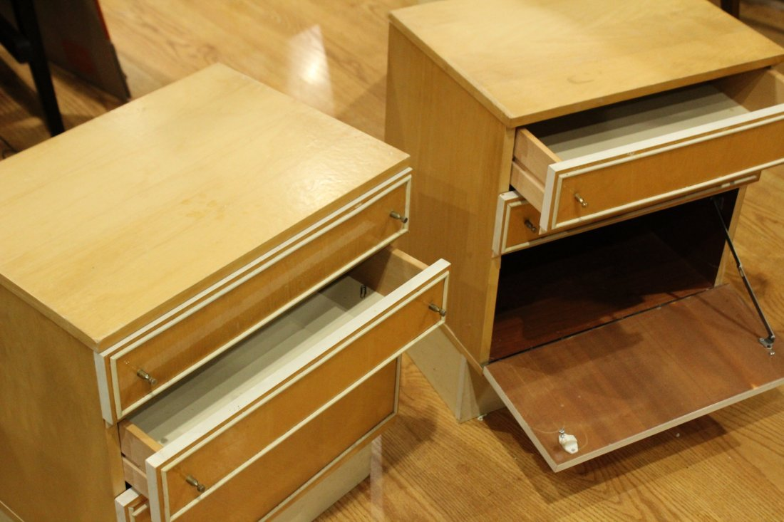 Mid-century Modern dresser set with end tables - 7