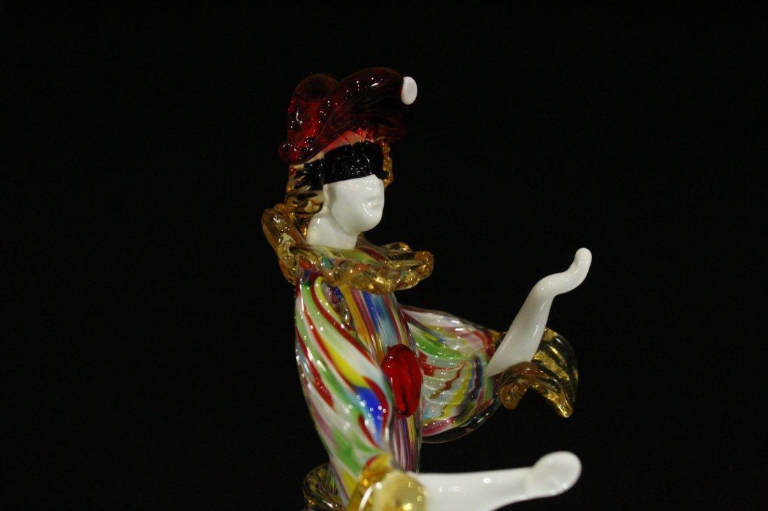 Vintage Murano glass clown hand blown - 6