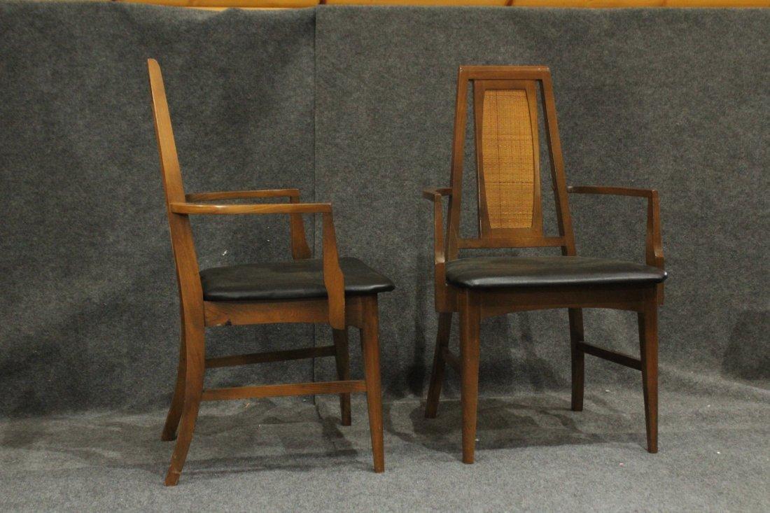 Set 6 Mid Century Danish Modern Design Dining Chairs - 2