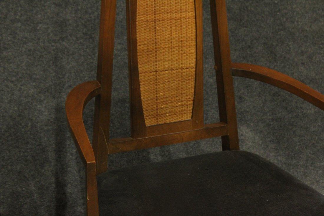 Set 6 Mid Century Danish Modern Design Dining Chairs - 3