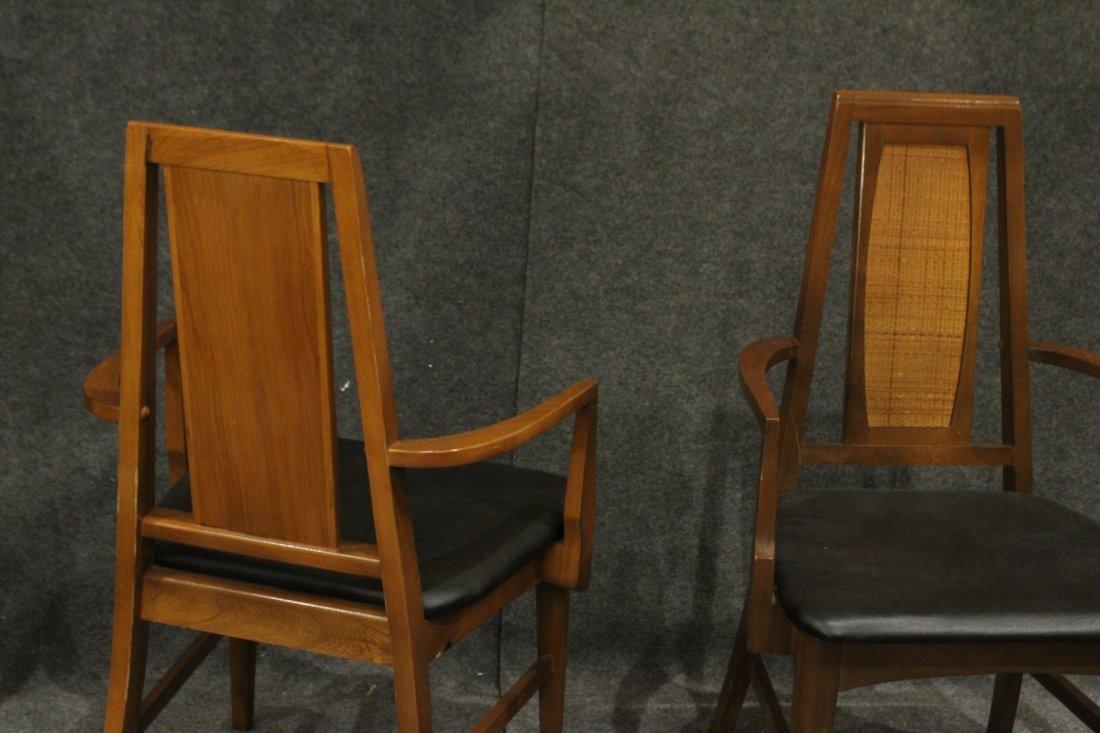 Set 6 Mid Century Danish Modern Design Dining Chairs - 4