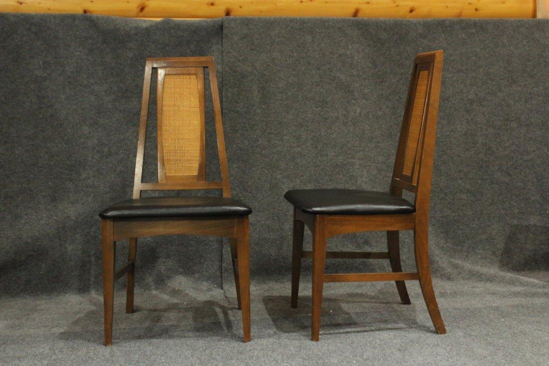 Set 6 Mid Century Danish Modern Design Dining Chairs - 6