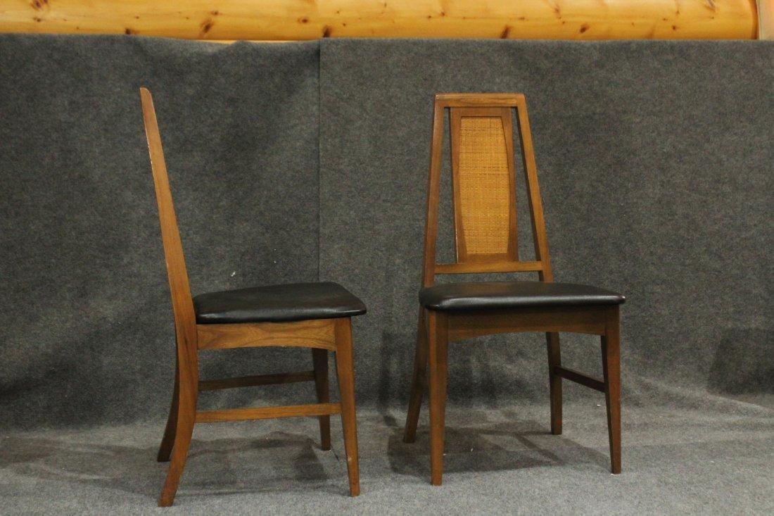 Set 6 Mid Century Danish Modern Design Dining Chairs - 7
