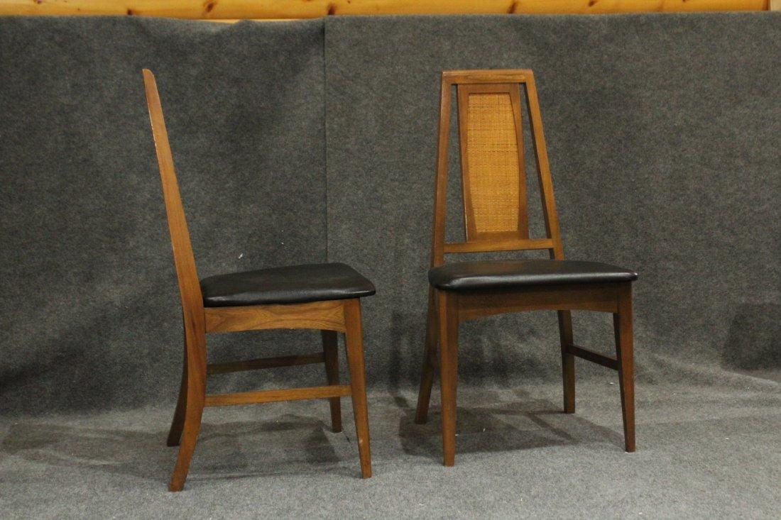 Set 6 Mid Century Danish Modern Design Dining Chairs - 8