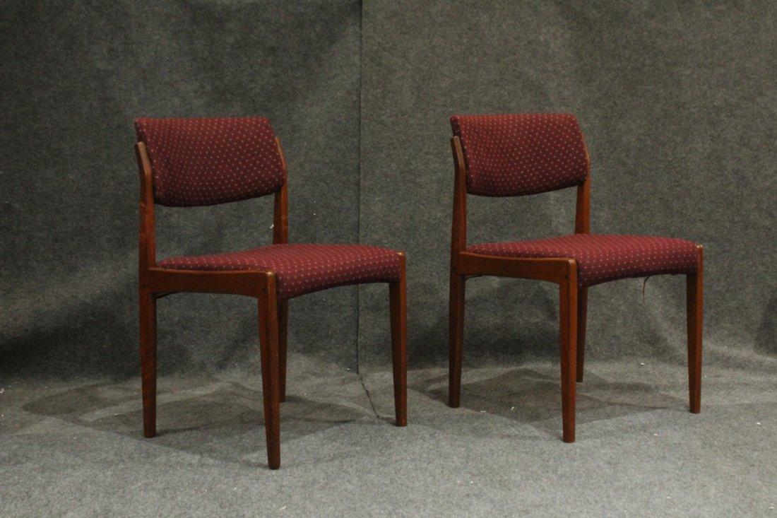 Bramin Denmark Set 4 Danish Mid-Century Modern Chairs - 2