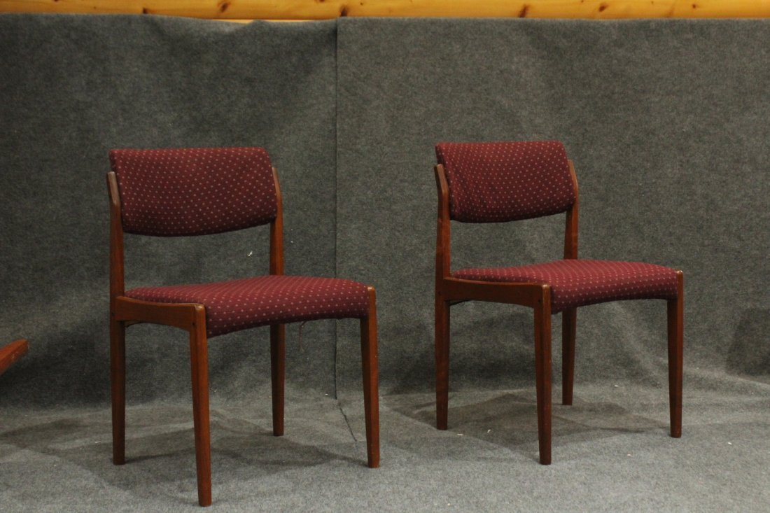 Bramin Denmark Set 4 Danish Mid-Century Modern Chairs - 3