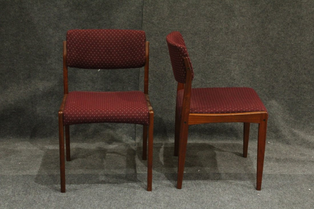 Bramin Denmark Set 4 Danish Mid-Century Modern Chairs - 4