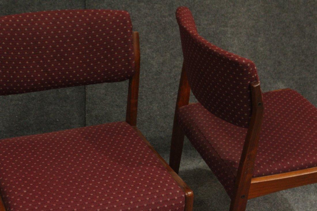 Bramin Denmark Set 4 Danish Mid-Century Modern Chairs - 5