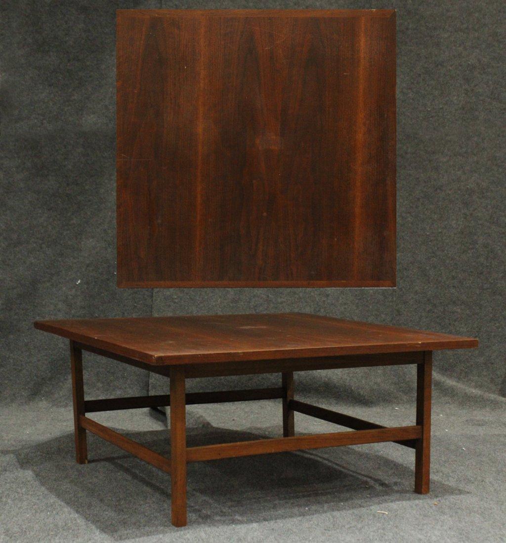 Mid-Century Modern Walnut Low Occasional Stand