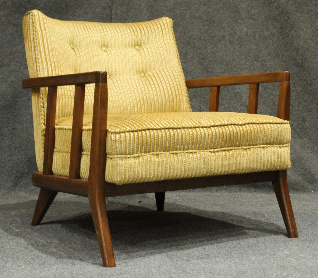 Quality Mid-Century Modern Danish Arm Lounge Chair