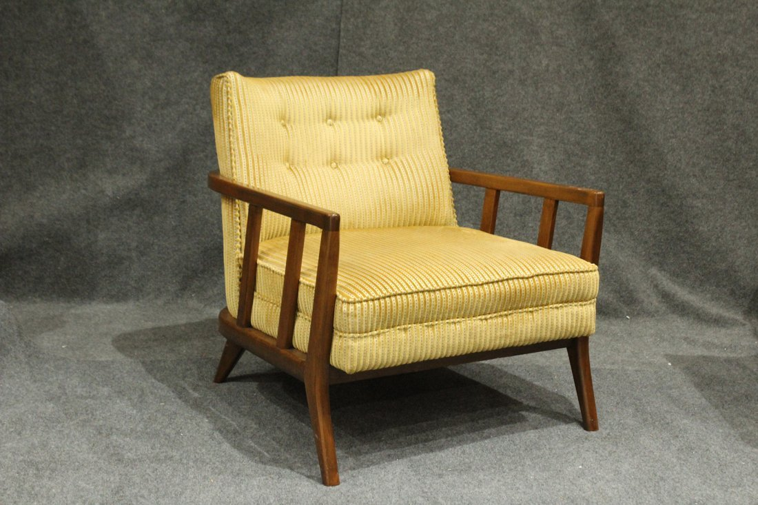 Quality Mid-Century Modern Danish Arm Lounge Chair - 2