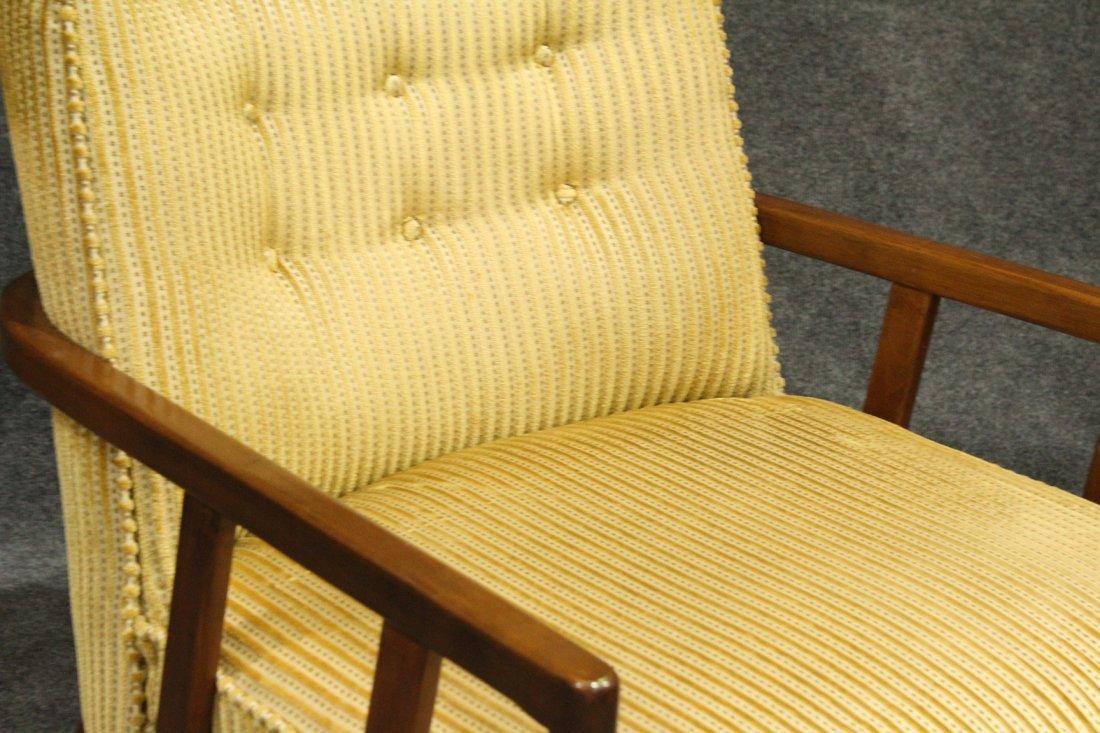 Quality Mid-Century Modern Danish Arm Lounge Chair - 3