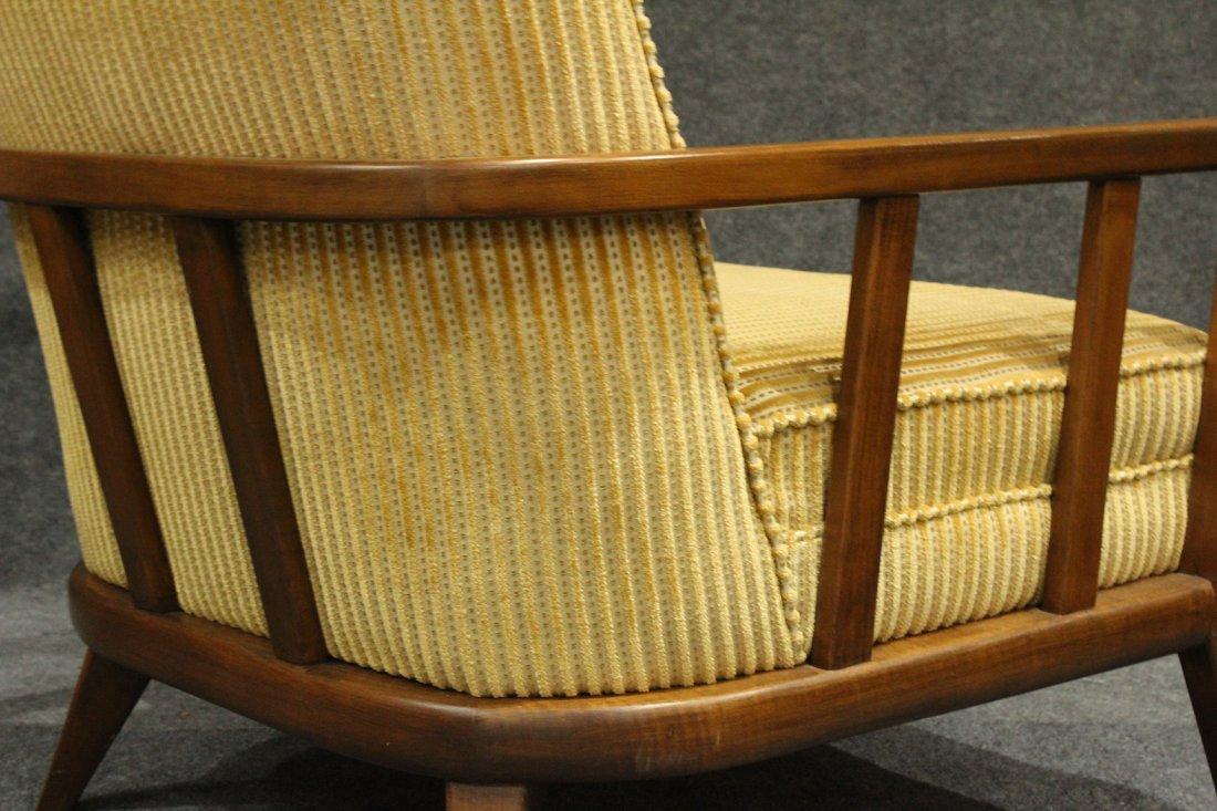 Quality Mid-Century Modern Danish Arm Lounge Chair - 5