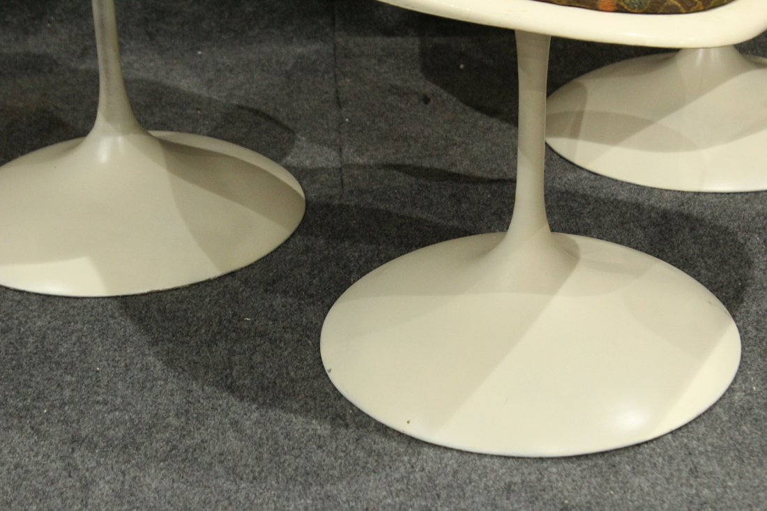 3 Knoll Saarinen Tulip Base Swivel Chairs - 3