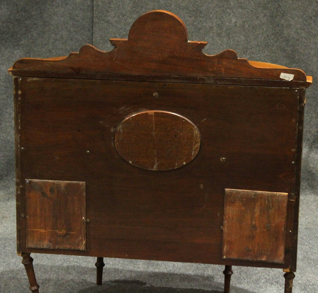 RARE French Victorian Walnut Watchmaker Jeweler Cabinet - 7