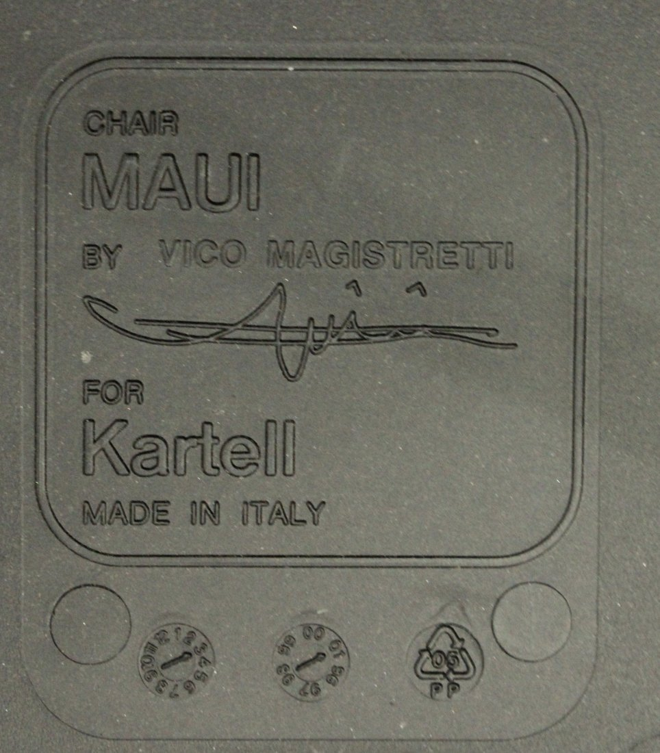 Maui Chair By Vico Magistretti For Kartell - 3