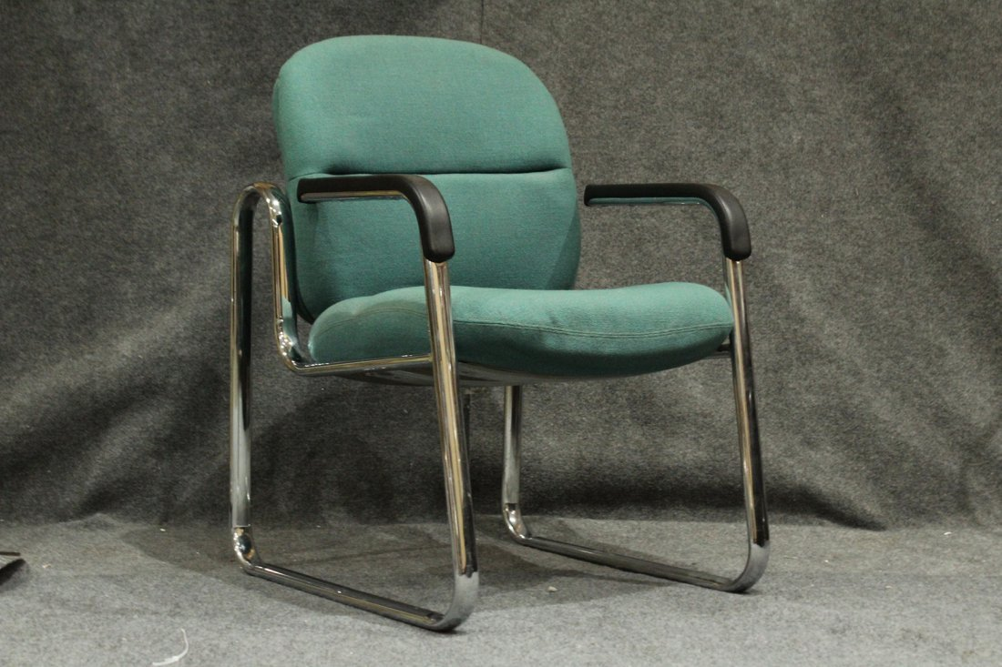 Mid-Century Tubular Chrome Arm Chair Very Stylish
