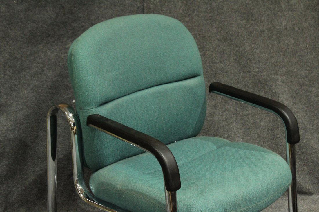 Mid-Century Tubular Chrome Arm Chair Very Stylish - 3