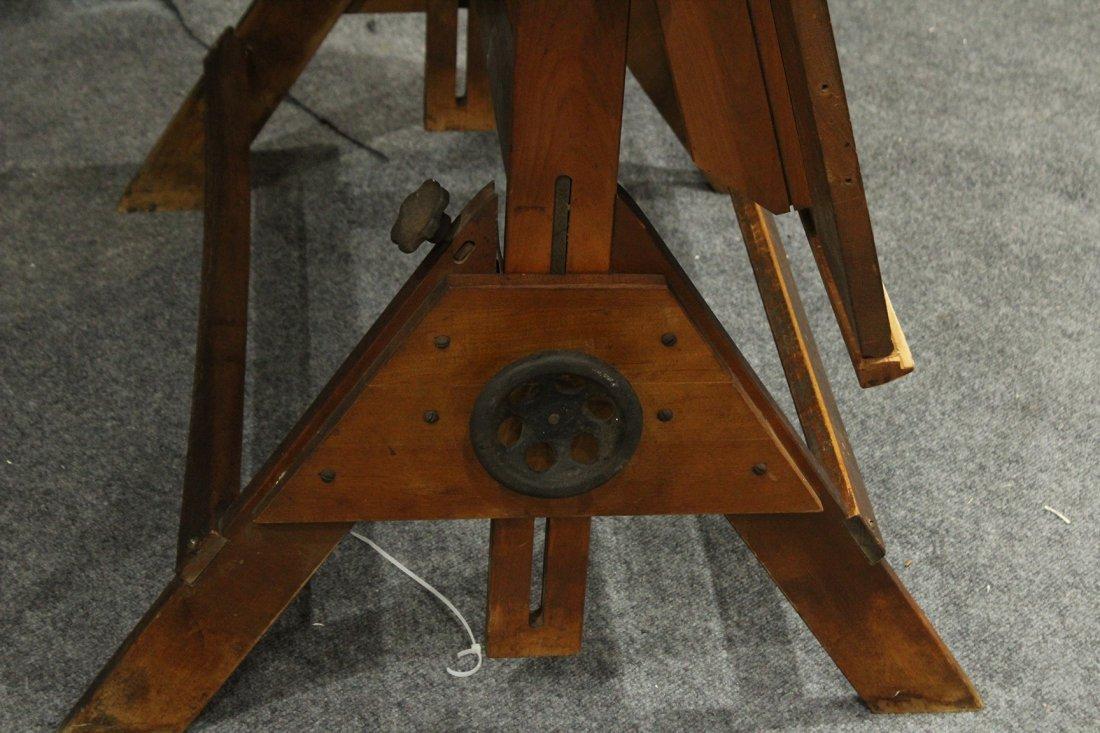 Vintage Tilt Top Drafting Table - 2