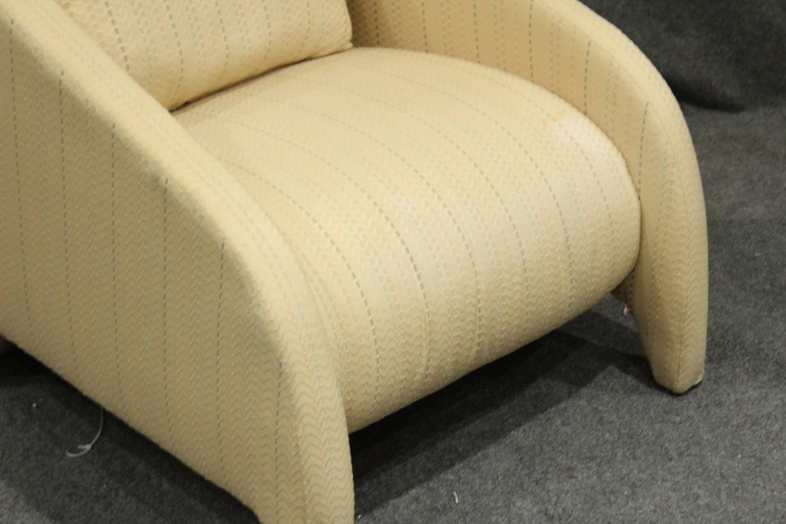Mid-Century Modern Design Lounge Chair, Great Lines - 3