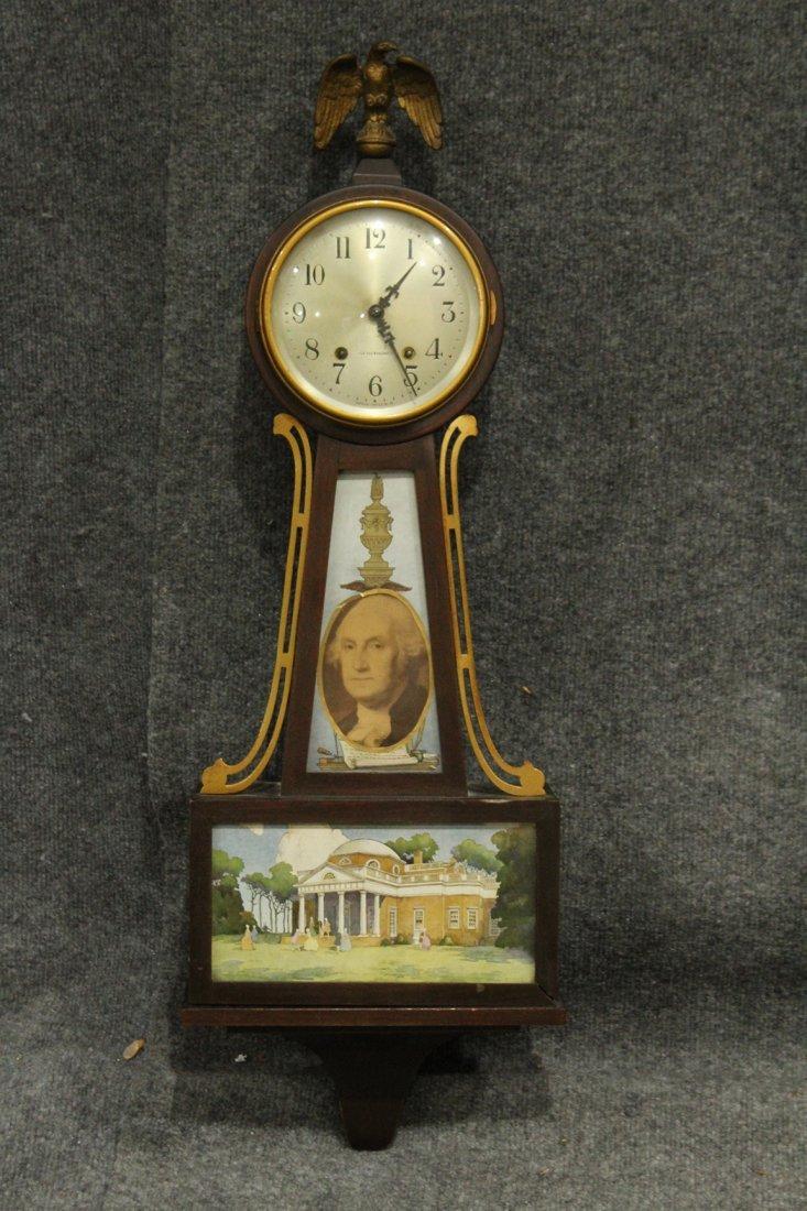 Seth Thomas Clock Co. Banjo #7 Wall Clock