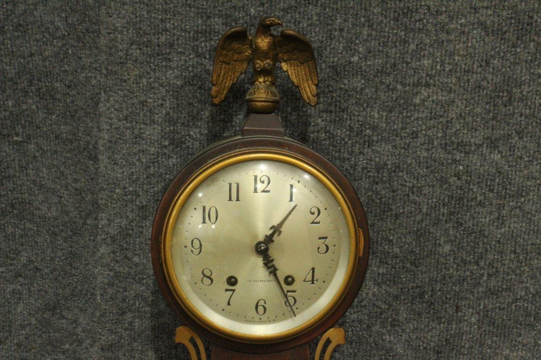 Seth Thomas Clock Co. Banjo #7 Wall Clock - 4