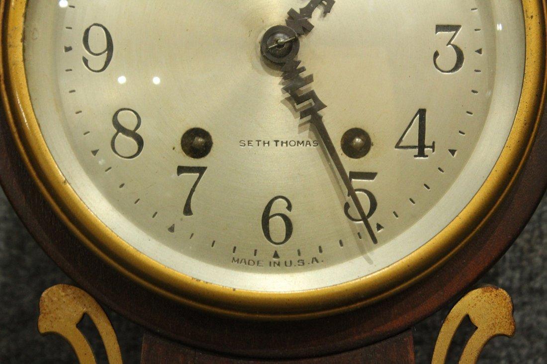 Seth Thomas Clock Co. Banjo #7 Wall Clock - 5