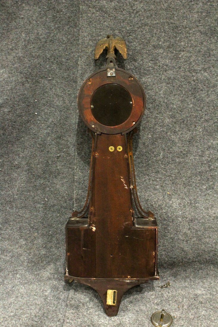 Seth Thomas Clock Co. Banjo #7 Wall Clock - 6