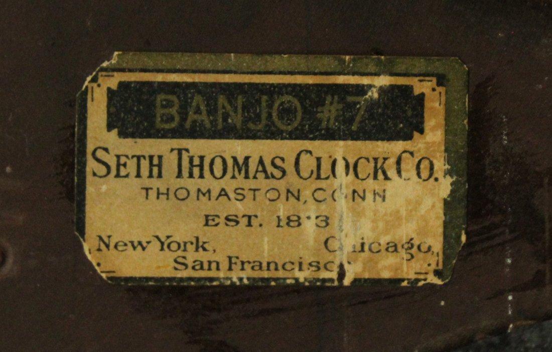 Seth Thomas Clock Co. Banjo #7 Wall Clock - 7