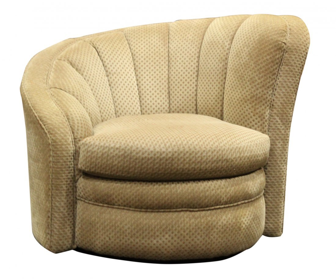 Vladimir Kagan Nautilus Swivel Chair - Very Clean.