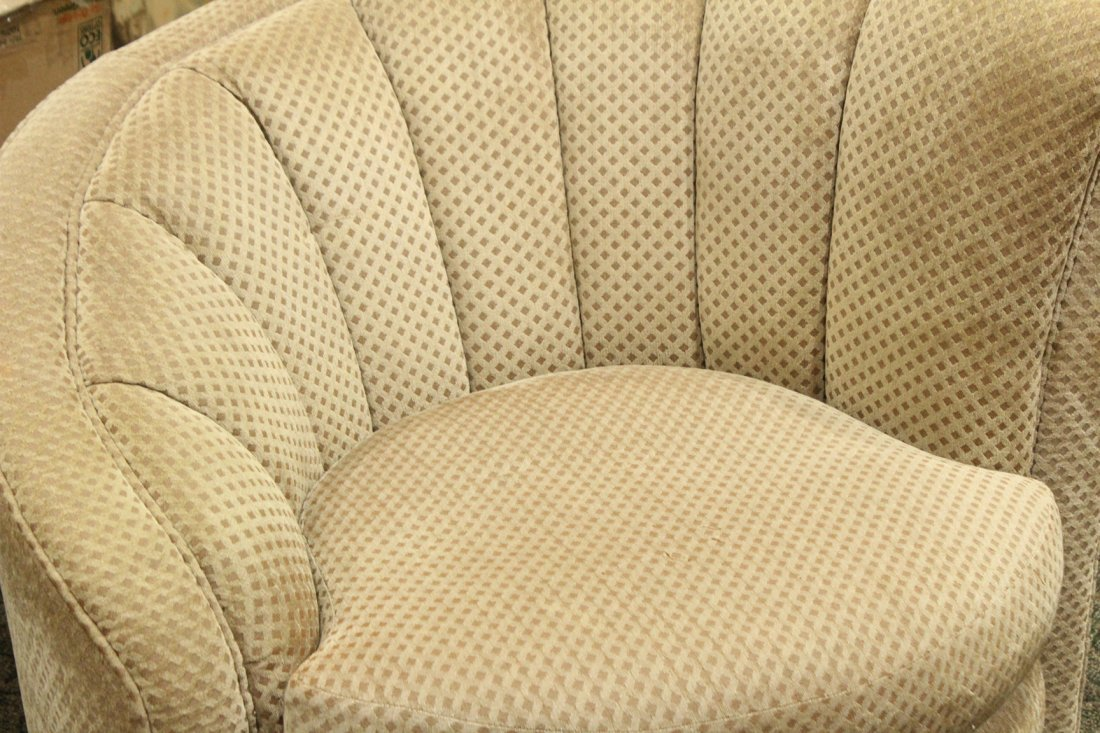 Vladimir Kagan Nautilus Swivel Chair - Very Clean. - 2