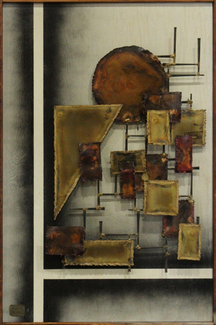 Alex Kovacs 1972, Modernism Metal Dimensional Wall Art