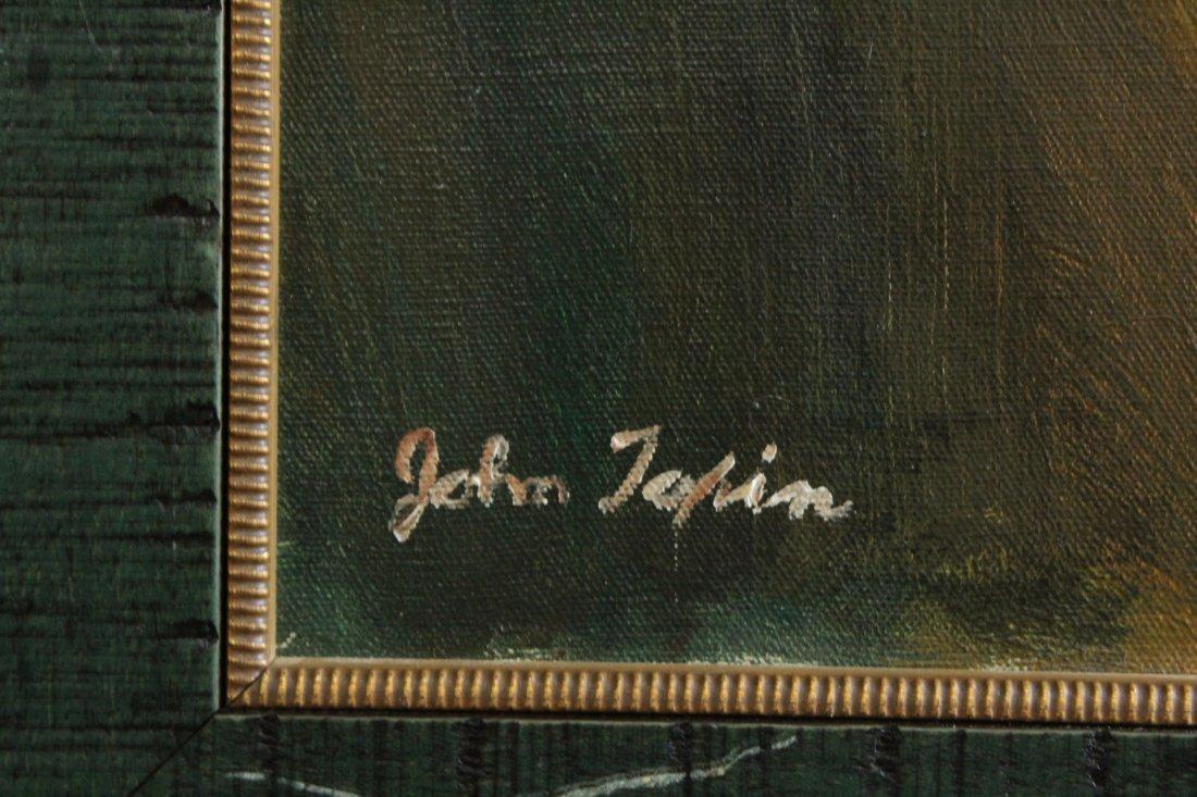 John Topin , Oil/C, Portrait Vietnames Orphan Boy 1975 - 2