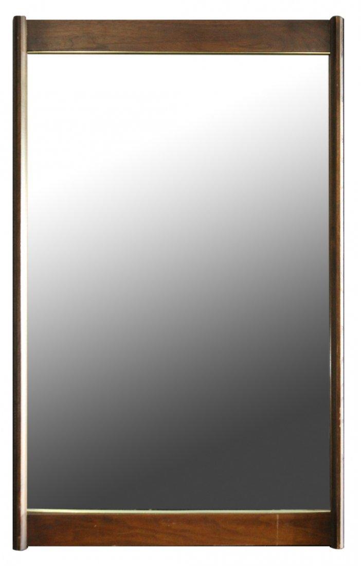 Mid-Century Modern Hanging Wall Mirror
