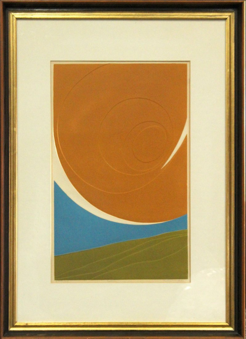 Beatrice Berlin 1971, Artists Proof, Titled Cyclonic