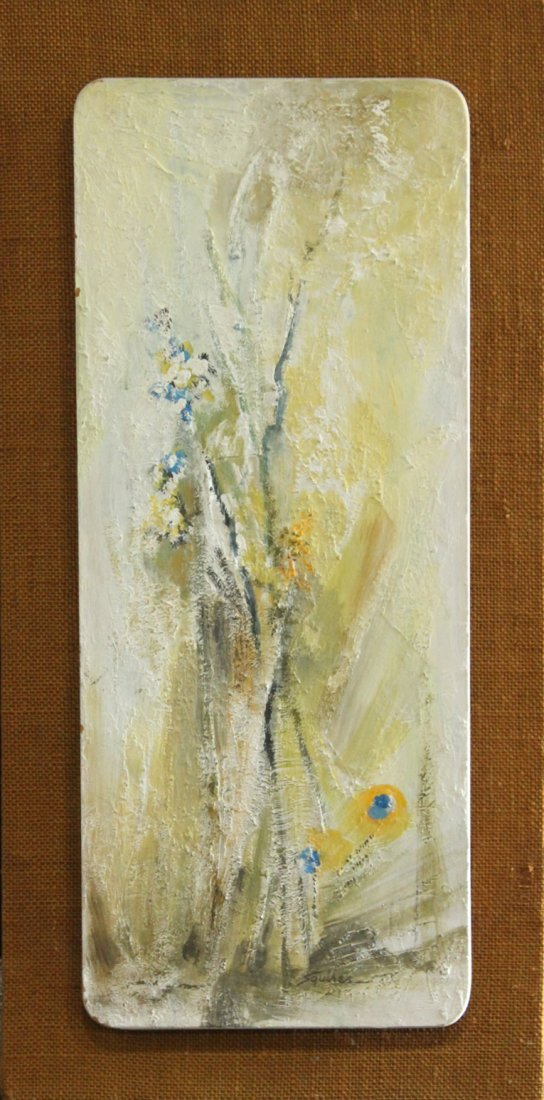 Mac Squires, Oil/B Signed and Titled: Spring Motife