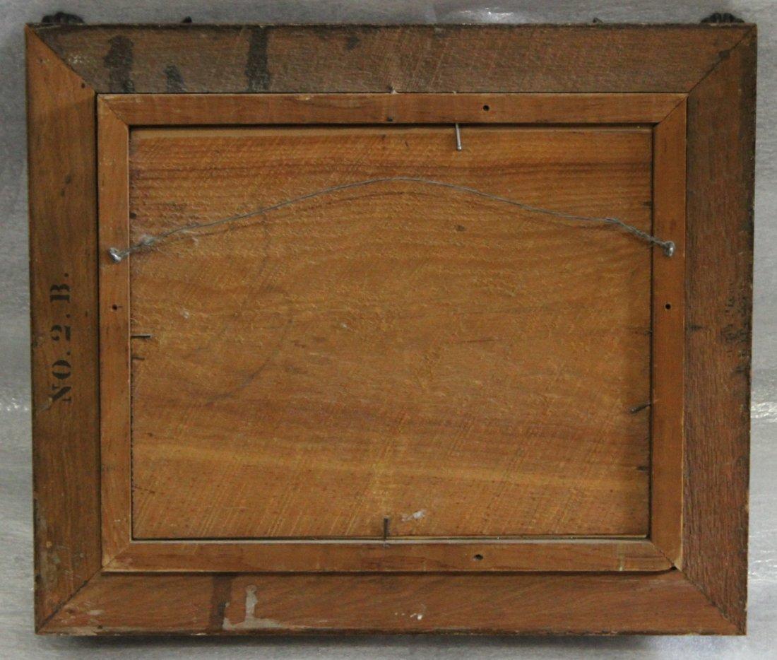 Circa 1870s Chromolithograph in Original Walnut Frame - 2