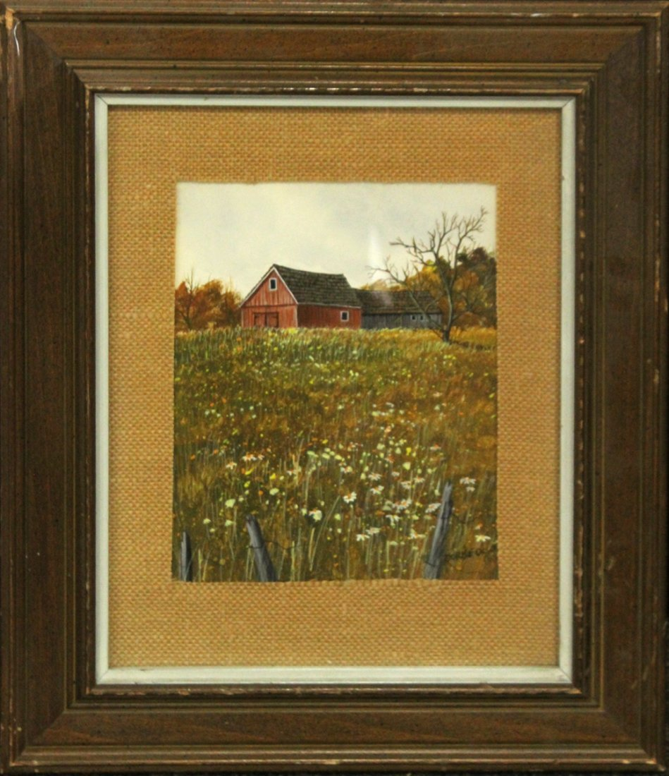 Dorise Olson Mina-Mora 1932-1991, Oil Landscape
