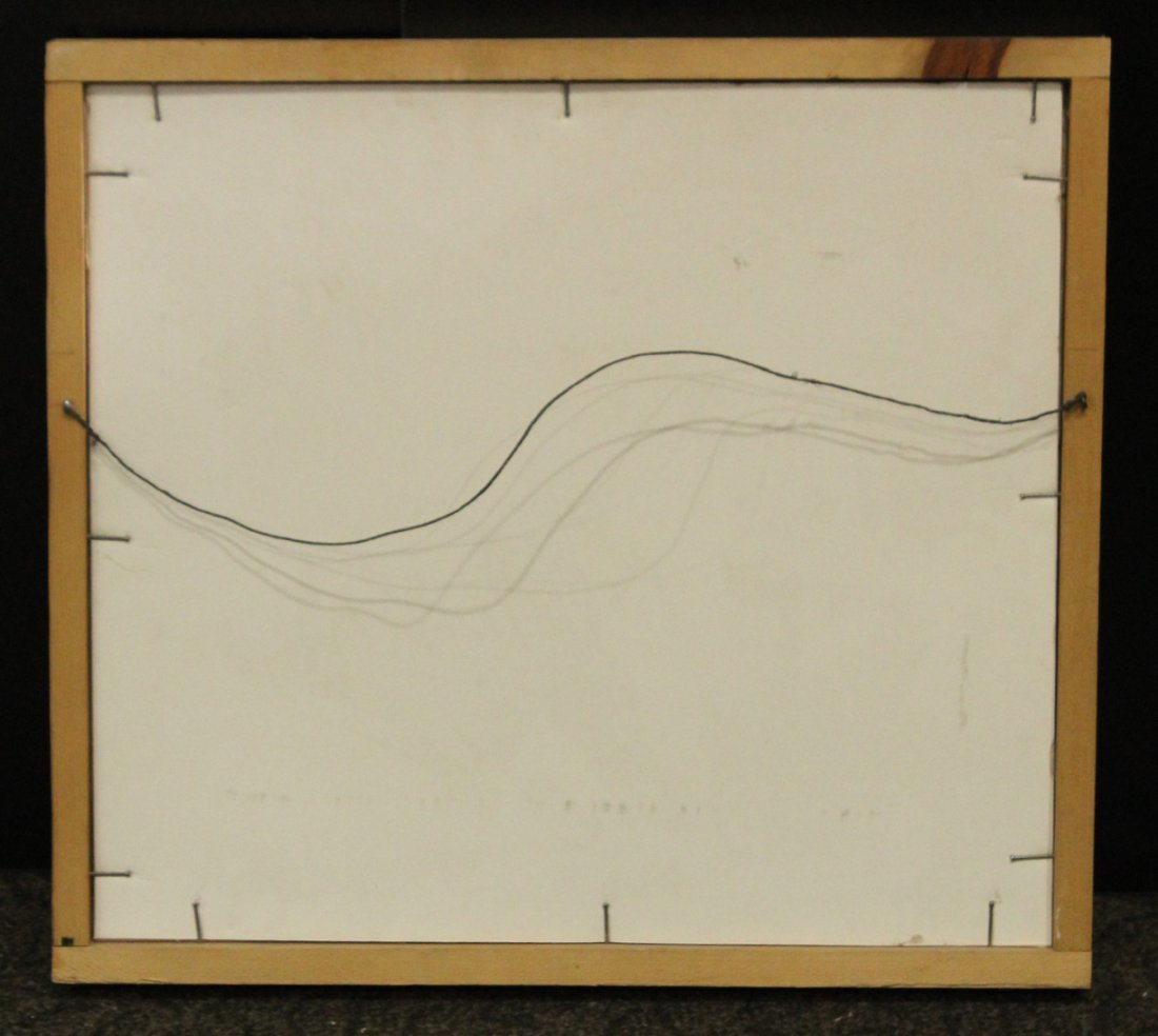 SEYMOUR ZAYON Mid Century Modern GEOMETRIC ABSTRACT - 4