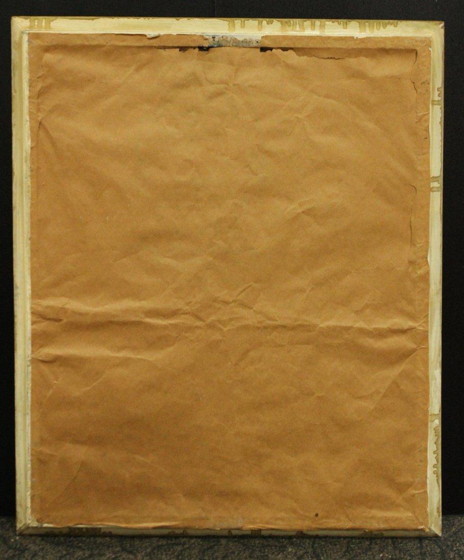 Harris, Vintage Mid-Century Silkscreen of San Francisco - 4