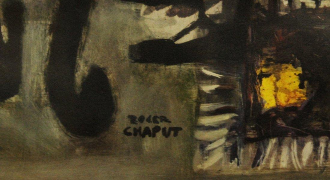 Roger Chaput 1909-1995 France, Color Litho, Melancholie - 2
