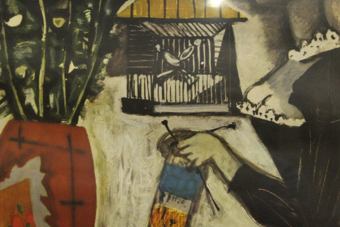 Roger Chaput 1909-1995 France, Color Litho, Melancholie - 3