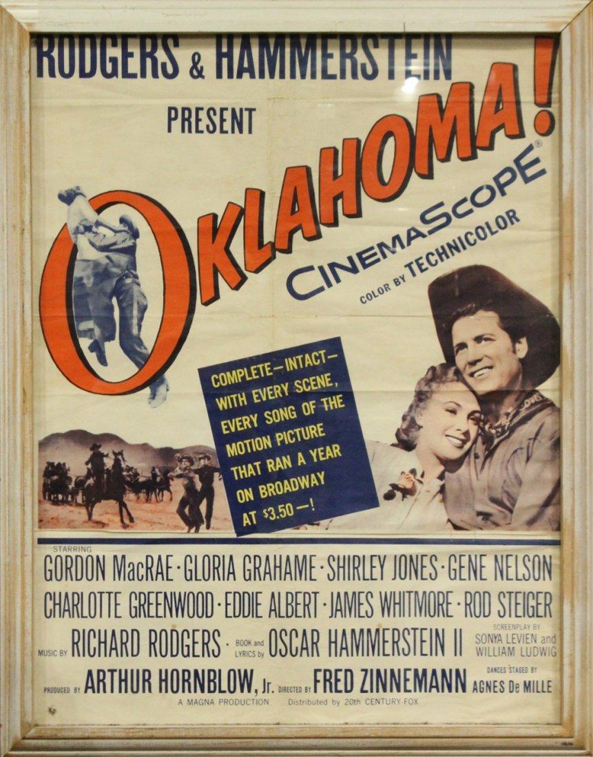Rodgers & Hammerstein OKLAHOMA Vintage Movie Poster