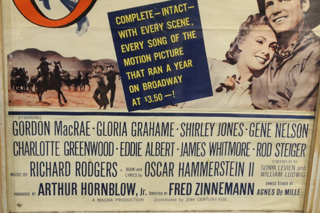 Rodgers & Hammerstein OKLAHOMA Vintage Movie Poster - 3