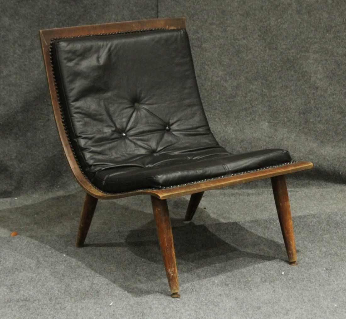 Mid-Century Modern Carter Brothers Scoop Chair