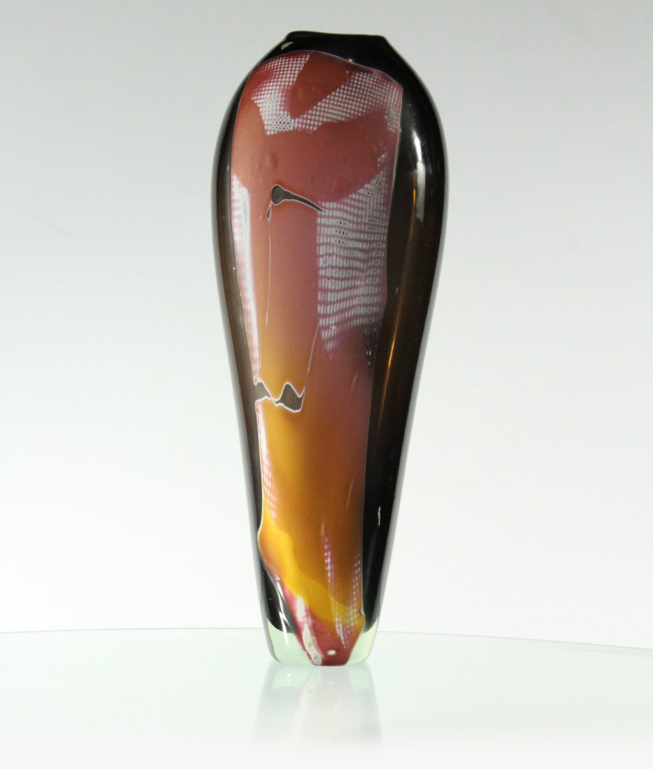 Quality Studio Tall  Art Glass Vase 16 inches Height