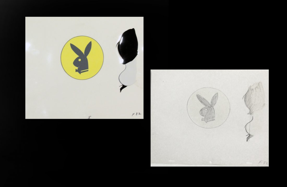 Leroy Neiman 1921-2012,  Illustrator,  Playboy Cel