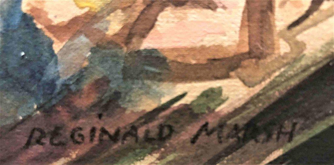 REGINALD MARSH 1898-1954 W/C, CONEY ISLAND WHIRLWIND - 2