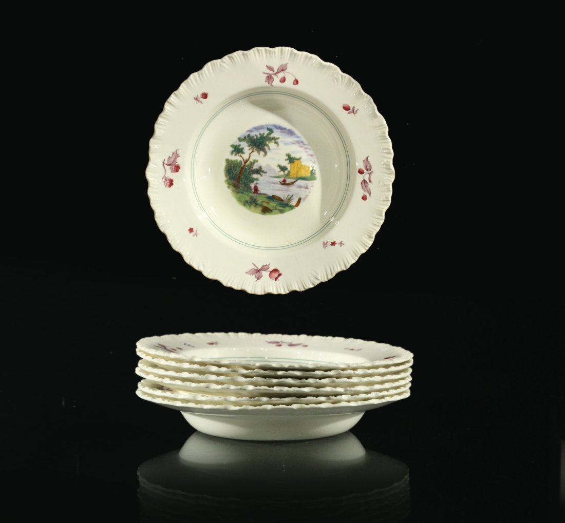 6x (six) Summer Time Wedgwood Plates